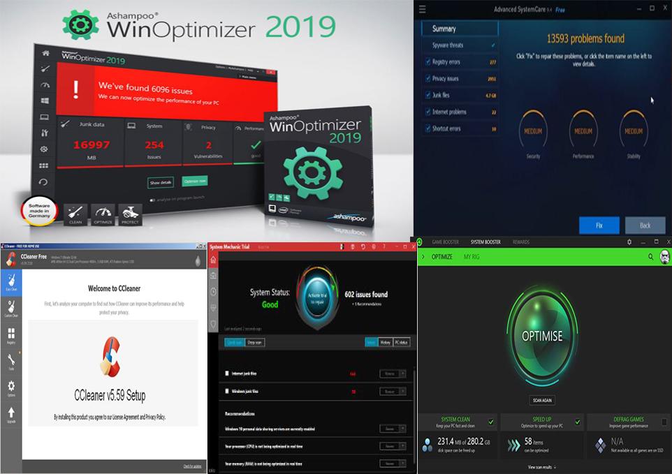افضل برامج لتحسين اداء جهاز الكمبيوتر 2019 المجانية